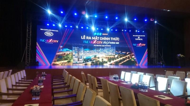 Thiết bị Tân Việt tại lễ ra mắt FLC LUX CITY