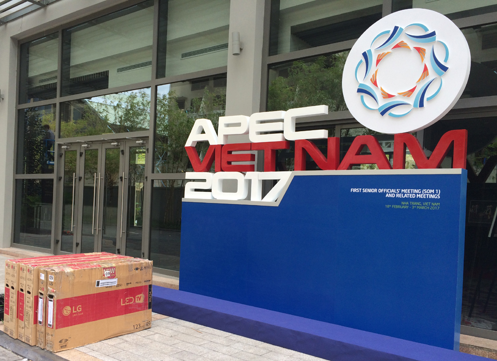 """THIET BI DAU TIEN """"Apec Việt Nam 2017"""" – Sự kiện lớn nhất Việt Nam năm 2017."""