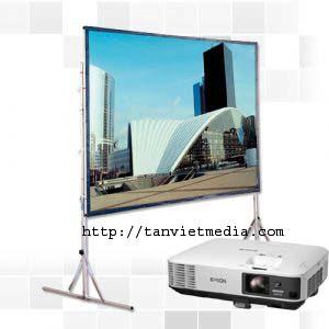 Cho thue may chieu Tan viet Dịch vụ cho thuê máy chiếu   màn chiếu