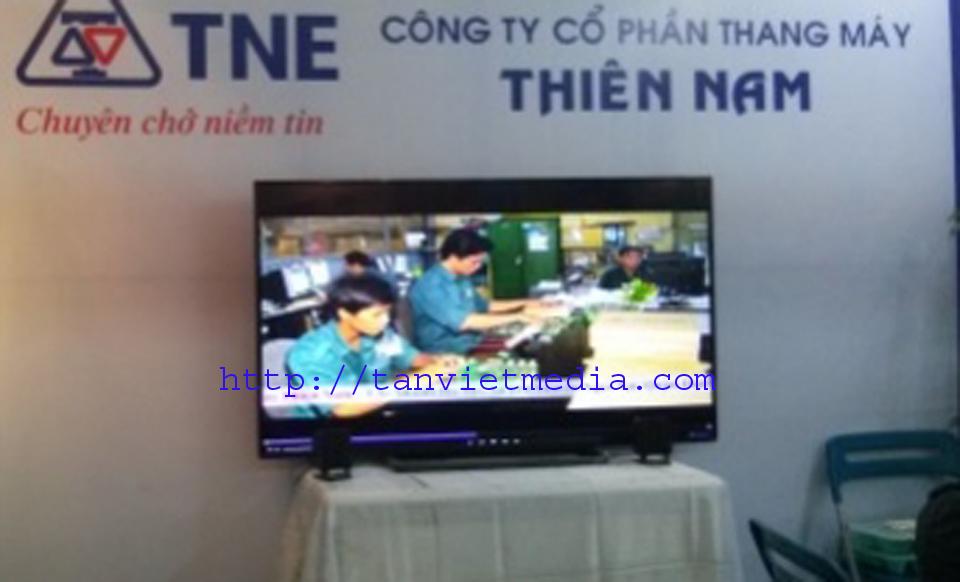 Cho thue tivi trien lam 6 Cho thuê Tivi hội chợ