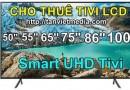 Dịch vụ cho thuê Tivi LCD
